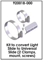 Kit to convert Light Slide to Universal Slide
