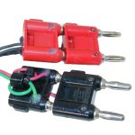 BNP-1 and / or BNP-2 Double Banana Plug - Black and/or Red
